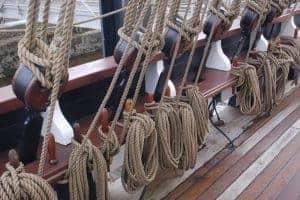 Cruising Association of Ireland tall ship