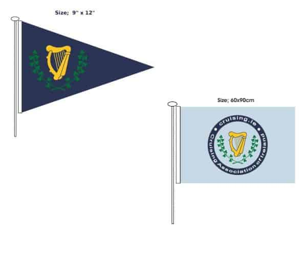 CAI merchandise flags and burgee
