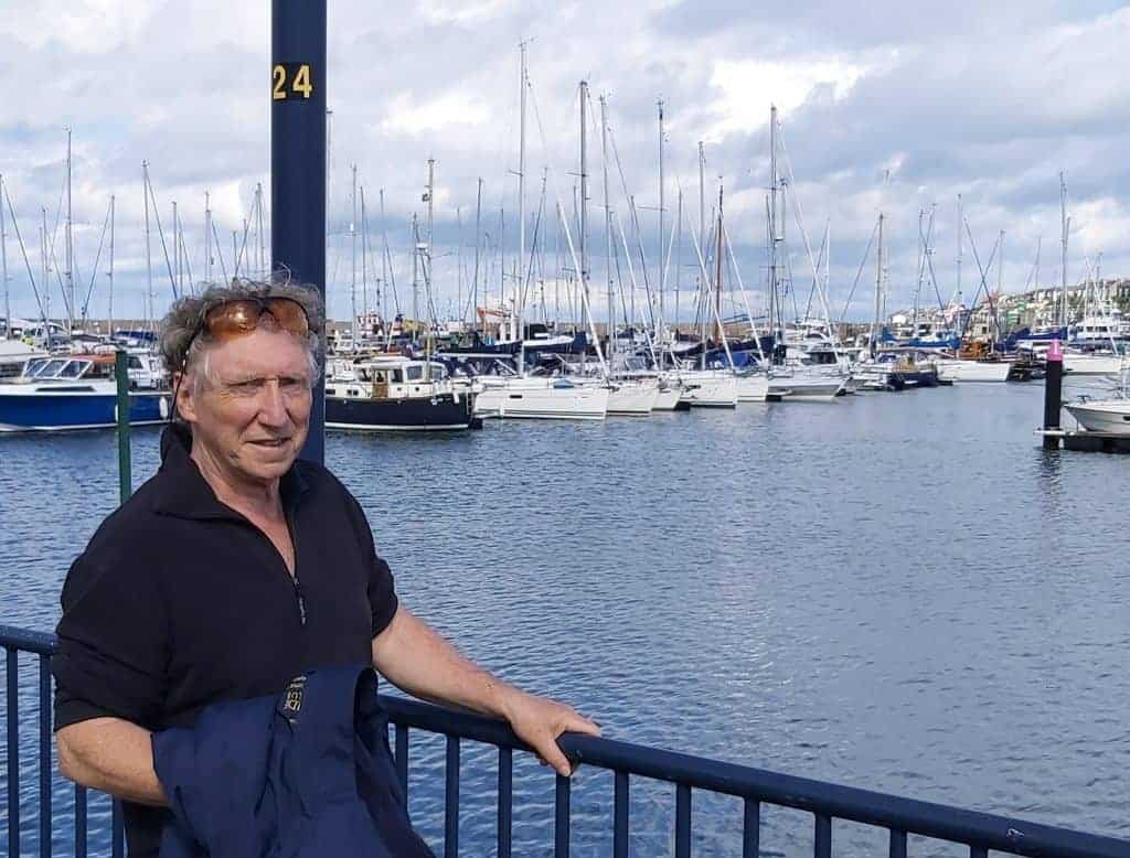 Commodore Vincent Lundy at Bangor Marina