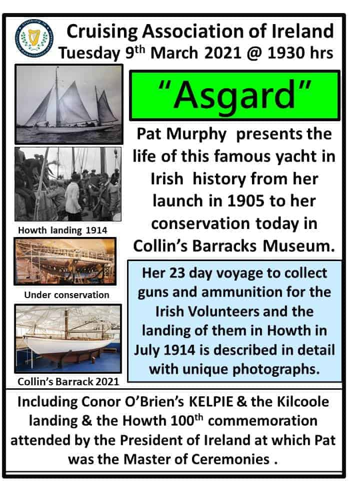 TNT Flyer for Asgard Talk Pat Murphy